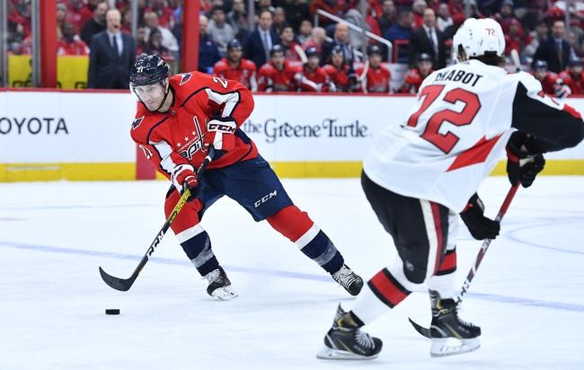 Ottawa Senators vs. Washington Capitals - 1/31/20 NHL Pick, Odds & Prediction
