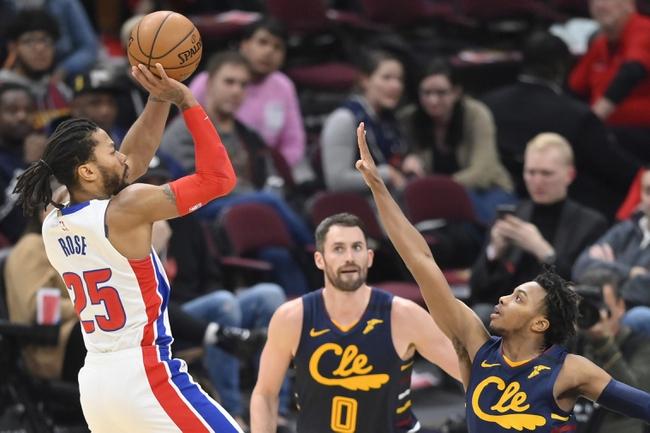 Cleveland Cavaliers vs. Detroit Pistons - 1/7/20 NBA Pick, Odds & Prediction