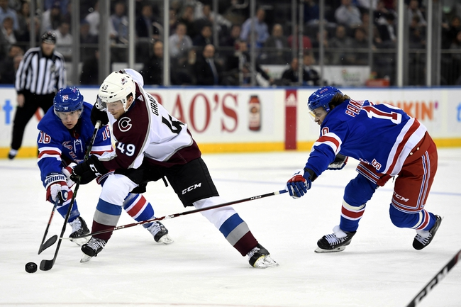Colorado Avalanche vs. New York Rangers - 3/11/20 NHL Pick, Odds, and Prediction