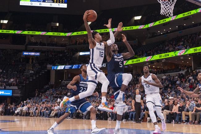 Minnesota Timberwolves vs. Memphis Grizzlies NBA Picks, Odds, Predictions 12/12/20