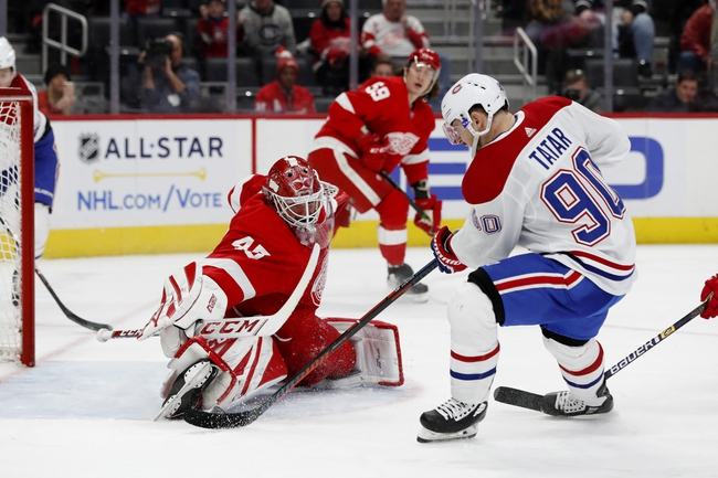 Detroit Red Wings vs. Montreal Canadiens - 2/18/20 NHL Pick, Odds & Prediction