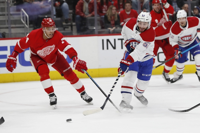Detroit Red Wings vs. Montreal Canadiens - 2/18/20 NHL Pick, Odds, and Prediction