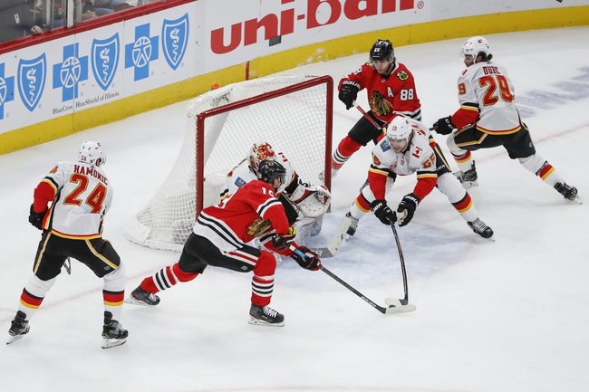Calgary Flames vs. Chicago Blackhawks - 2/15/20 NHL Pick, Odds & Prediction
