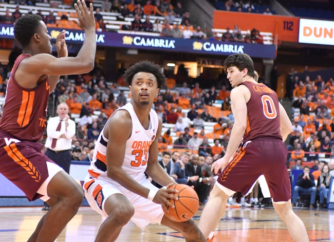 Virginia Tech vs. Syracuse - 1/18/20 College Basketball Pick, Odds, and Prediction
