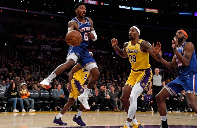 New York Knicks vs. Los Angeles Lakers - 1/22/20 NBA Pick, Odds, and Prediction