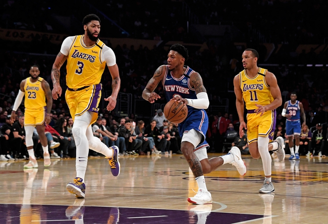 New York Knicks vs. Los Angeles Lakers - 1/22/20 NBA Pick, Odds & Prediction