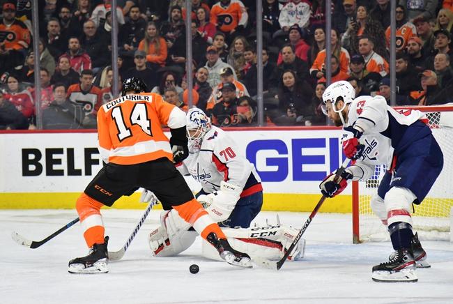 Washington Capitals vs. Philadelphia Flyers - 2/8/20 NHL Pick, Odds, and Prediction