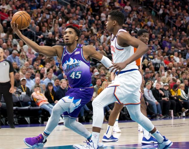 New York Knicks vs. Utah Jazz - 3/4/20 NBA Pick, Odds, and Prediction