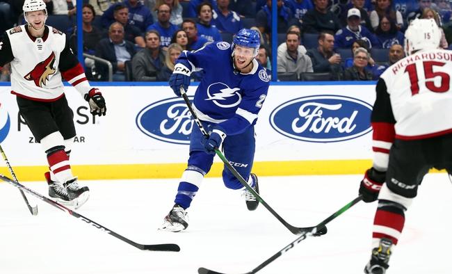 Arizona Coyotes vs. Tampa Bay Lightning - 2/22/20 NHL Pick, Odds, and Prediction