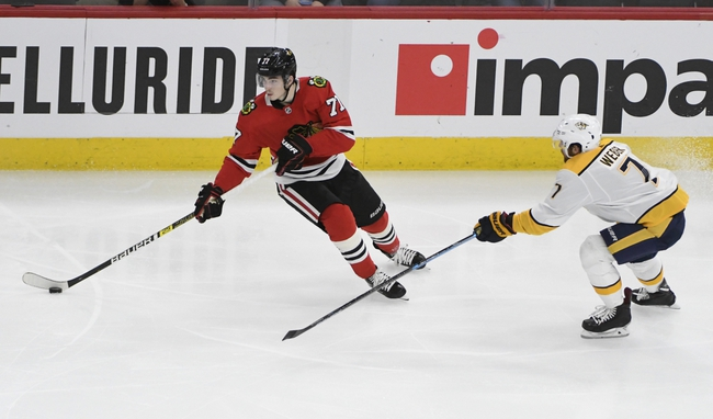 Chicago Blackhawks vs. Nashville Predators - 2/21/20 NHL Pick, Odds, and Prediction