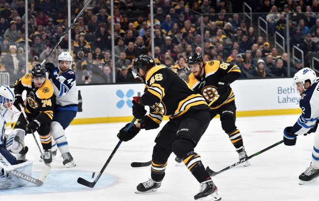 Winnipeg Jets vs. Boston Bruins - 1/31/20 NHL Pick, Odds, and Prediction