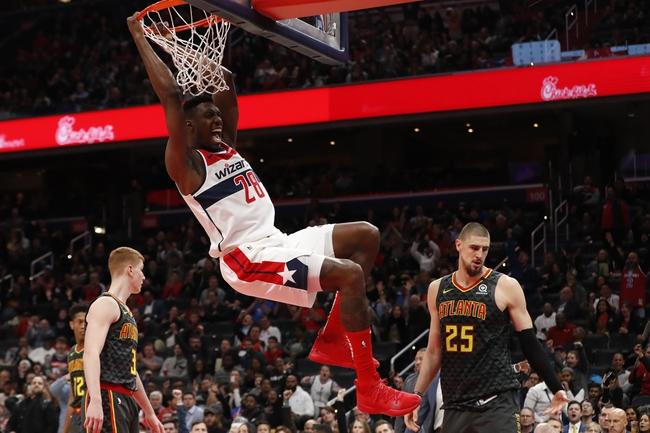Atlanta Hawks vs. Washington Wizards - 1/26/20 NBA Pick, Odds & Prediction