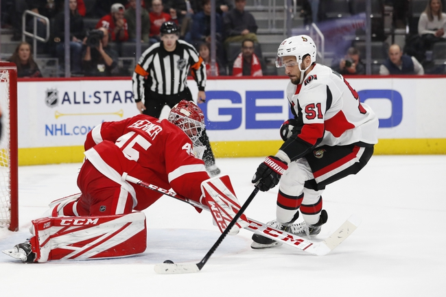 Ottawa Senators vs. Detroit Red Wings - 2/29/20 NHL Pick, Odds, and Prediction
