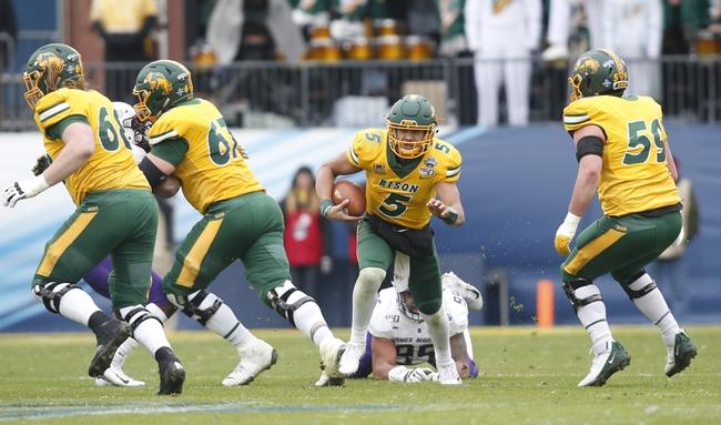 CFB: North Dakota State vs. Central Arkansas College Football Picks, Odds, and Predictions 10/3/20