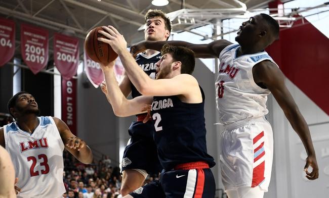 Gonzaga vs. Loyola Marymount - 2/6/20 College Basketball Pick, Odds, and Prediction