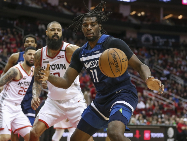Minnesota Timberwolves vs. Houston Rockets - 1/24/20 NBA Pick, Odds & Prediction