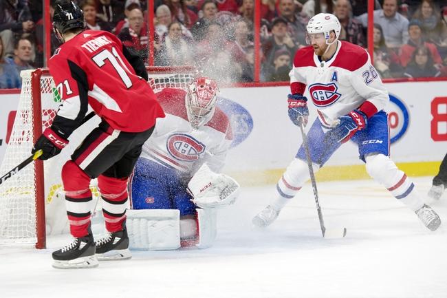 Ottawa Senators vs. Montreal Canadiens - 2/22/20 NHL Pick, Odds, and Prediction