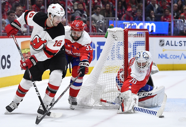 Washington Capitals vs. New Jersey Devils - 1/16/20 NHL Pick, Odds & Prediction