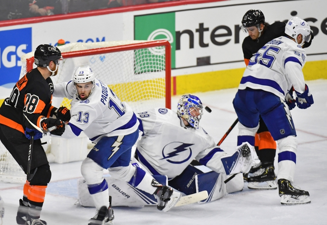 Tampa Bay Lightning vs. Philadelphia Flyers - 2/15/20 NHL Pick, Odds, and Prediction