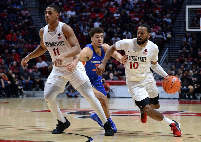 Fresno State vs. San Diego State - 1/14/20 College Basketball Pick, Odds, and Prediction