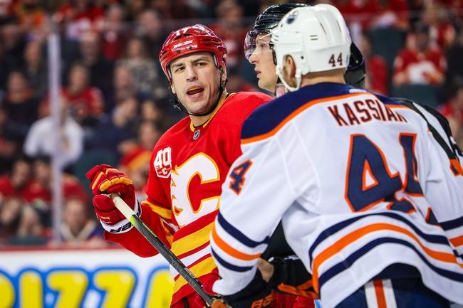 Edmonton Oilers vs. Calgary Flames - 1/29/20 NHL Pick, Odds & Prediction