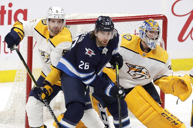 Winnipeg Jets vs. Nashville Predators - 2/4/20 NHL Pick, Odds, and Prediction