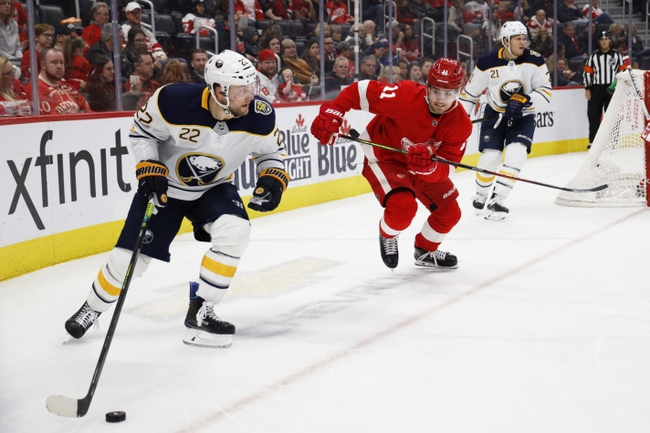 Buffalo Sabres vs. Detroit Red Wings - 2/6/20 NHL Pick, Odds, and Prediction