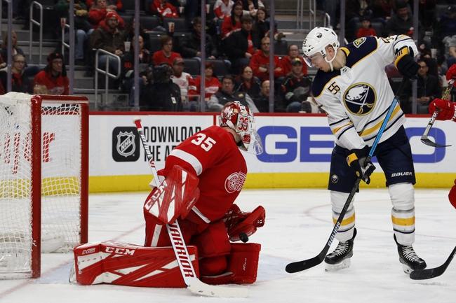 Buffalo Sabres vs. Detroit Red Wings - 2/6/20 NHL Pick, Odds & Prediction