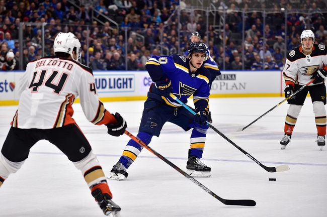 Anaheim Ducks vs. St. Louis Blues - 2/11/20 NHL Pick, Odds, and Prediction