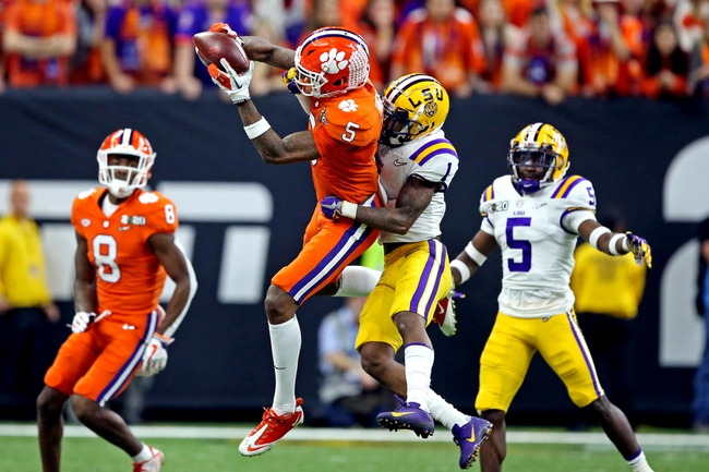 Tee Higgins 2020 NFL Draft Profile, Strengths, Weaknesses, and Possible Fits