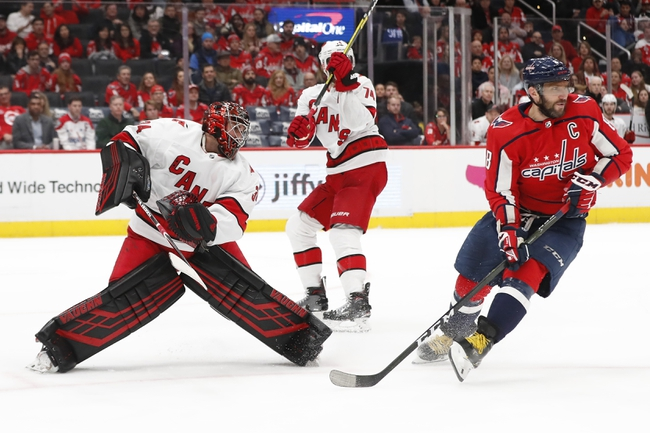 Washington Capitals vs. Carolina Hurricanes - 7/29/20 NHL Pick, Odds, and Prediction
