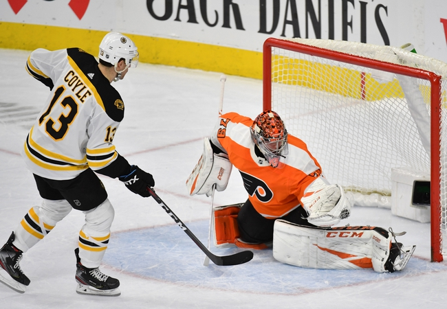 Boston Bruins at Philadelphia Flyers - 3/10/20 NHL Picks and Prediction