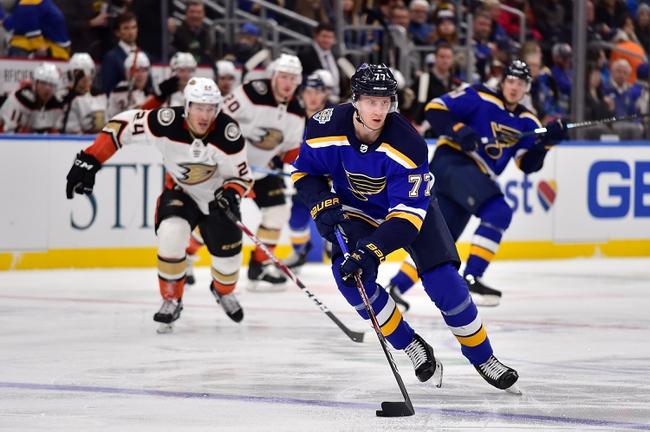 Anaheim Ducks vs. St. Louis Blues - 3/11/20 NHL Pick, Odds, and Prediction