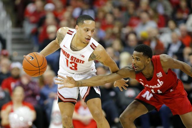 Nebraska vs. Ohio State - 2/27/20 College Basketball Pick, Odds, and Prediction