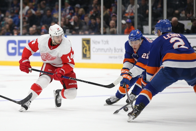 New York Islanders vs. Detroit Red Wings - 2/21/20 NHL Pick, Odds, and Prediction