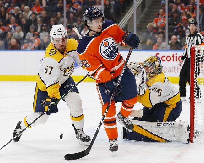 Edmonton Oilers vs. Nashville Predators - 2/8/20 NHL Pick, Odds & Prediction