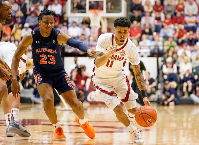 Auburn vs. Alabama - 2/12/20 College Basketball Pick, Odds, and Prediction