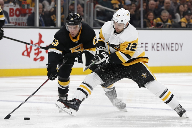 Pittsburgh Penguins vs. Boston Bruins - 1/19/20 NHL Pick, Odds, and Prediction