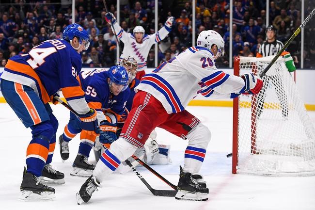 New York Rangers vs. New York Islanders - 1/21/20 NHL Pick, Odds & Prediction