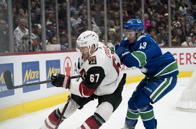 Vancouver Canucks vs. Arizona Coyotes - 3/4/20 NHL Pick, Odds, and Prediction