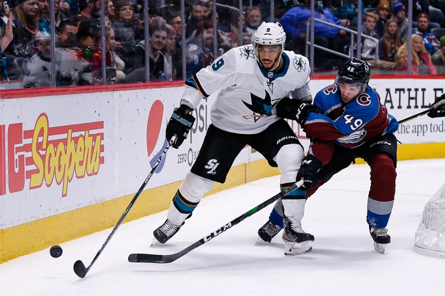 San Jose Sharks vs. Colorado Avalanche - 3/8/20 NHL Pick, Odds, and Prediction