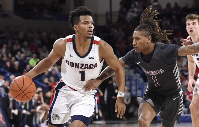 Santa Clara vs. Gonzaga - 1/30/20 College Basketball Pick, Odds, and Prediction