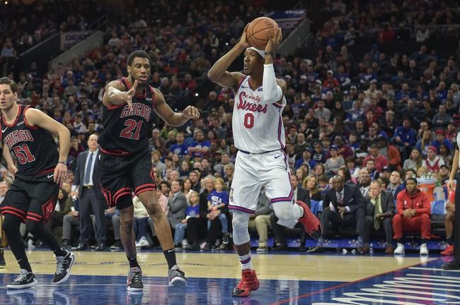Philadelphia 76ers vs. Chicago Bulls - 2/9/20 NBA Pick, Odds, and Prediction