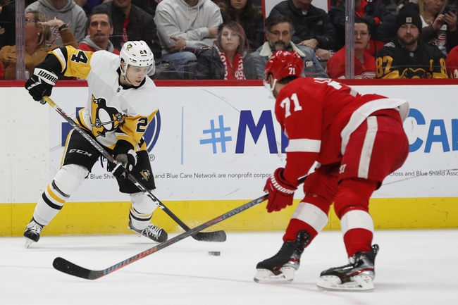 Pittsburgh Penguins vs. Detroit Red Wings - 2/16/20 NHL Pick, Odds & Prediction