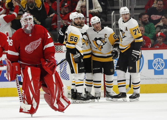 Pittsburgh Penguins vs. Detroit Red Wings - 2/16/20 NHL Pick, Odds, and Prediction
