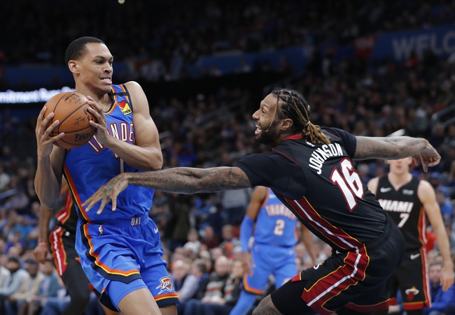 Oklahoma City Thunder vs. Miami Heat - 8/12/20 NBA Pick, Odds, and Prediction