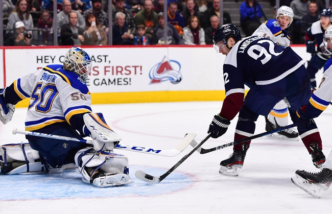 St. Louis Blues at Colorado Avalanche - 8/2/20 NHL Picks and Prediction