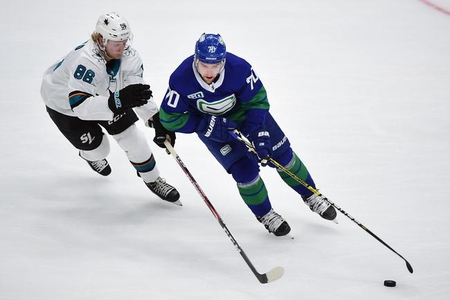 San Jose Sharks vs. Vancouver Canucks - 1/29/20 NHL Pick, Odds & Prediction