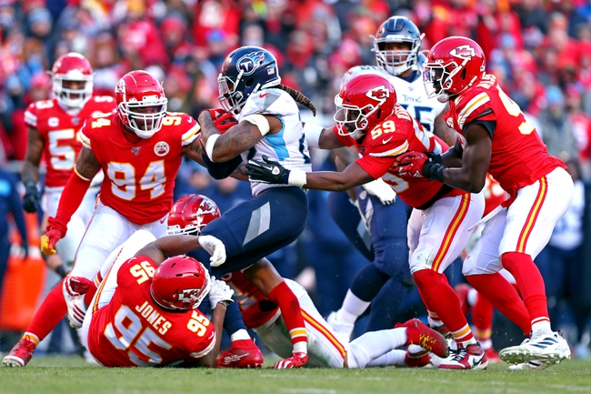Kansas City Chiefs vs. Tennessee Titans - 5/30/20 Madden20 NFL Sim Pick, Odds, and Prediction