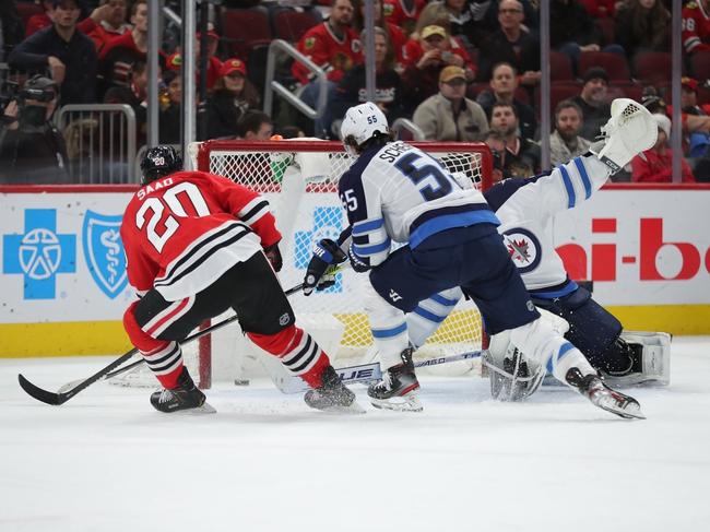 Winnipeg Jets vs. Chicago Blackhawks - 2/9/20 NHL Pick, Odds & Prediction